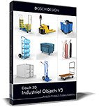 Dosch 3D: Industrial Objects V3